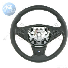 OEM BMW M5 E60 M6 E63 E64 Leather Steering Wheel with SMG Gear Paddle Shifters