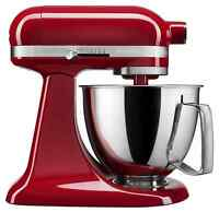 KitchenAid Artisan 3.5 Quart Tilt-Head Stand Mixer w/ Flex Edge Beater, KSM3316X