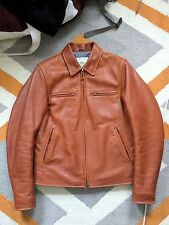 Golden Bear X Taylor Stitch Whiskey Leather Jacket Small