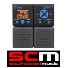 NEW ZOOM G1ON G1 ON ELECTRIC GUITAR MULTI FX PEDAL / DRUM MACHINE 24-bit / 96kHz