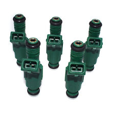 New 5pc Green Giant Fuel Injector For Chevrolet 42 lb/hr 440cc 0280155968 Turbo