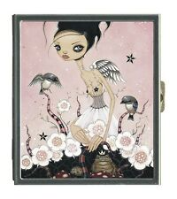 Classic Hardware Mirror Compact CAIA KOOPMAN - VERITES - New! Big Eye Art!