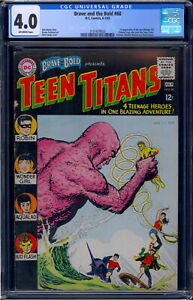 Brave and The Bold #60 CGC 4.0 Off-White Pages 2101679025 1st App Wonder Girl!