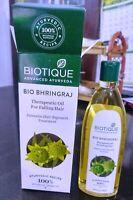 BIOTIQUE AYURVEDA BHRINGRAJ HAIR OIL FOR INTENSIVE HAIR REGROWTH &FALLING HAIR