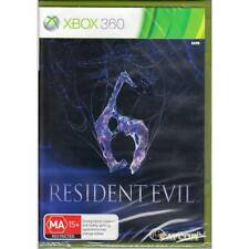 MICROSOFT XBOX 360 RESIDENT EVIL 6 PAL SEALED  ACTION ADVENTURE MA [BNS]