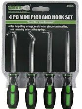 4-Piece Precision Pick and Hook Set, Oil Seal / O-Ring Seal Gasket Remover Pick