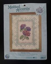 Dimensions # 6849 Hydrangea Cutting Counted Cross Stitch Kit Unopened