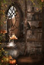 Gloomy Witch Room Backdrop Halloween Background 5x7ft Studio Photography Prop