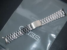 SEIKO 19mm STAINLESS STEEL WATCH STRAP FLAT LUGEARS E1015.E