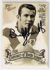 SIGNED BILLY SMITH DRAGONS 2008 CENTENARY TOP 100 GREATEST PLAYERS NRL CARD RARE