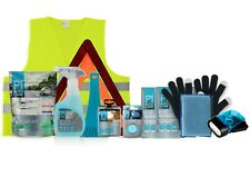 Winter Car Emergency Breakdown Kit - De-icer, Warning Triangle, First Aid Kit