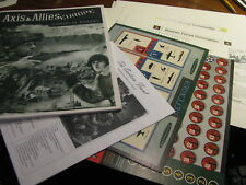 Axis & Allies Europe  Replacement Gameplay Manual Plus More 1999   #HU
