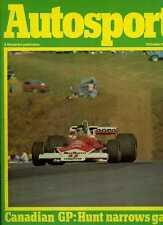 Autosport 7th octobre 1976 * Canadian Grand Prix & Vallelunga F 3 *