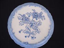 vintage blue & white  porcelain teapot coffee pot trivet