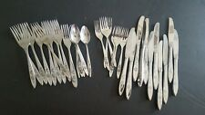 Oneida Community Stainless My Rose Flatware 33 Piece Mixed Lot