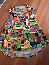 NWT LULAROE Disney Carly Ladies Sz S Dress