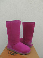 UGG VICTORIAN PINK CLASSIC TALL BOOTS, YOUTH 4, FITS WOMEN US 6/ EUR 37 ~NIB