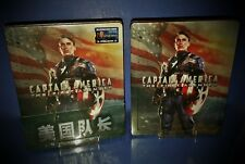 CAPTAIN AMERICA * THE FIRST AVENGER * BLUFANS * 3D/2D BLU RAY STEELBOOK