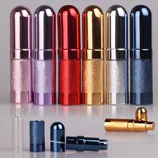 Metal Case Travel Portable Mini Refillable Perfume Atomizer Empty Bottle Spray