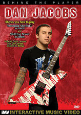 DAN JACOBS ATREYU BEHIND THE PLAYER GUITAR DVD NEW