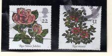 Gran Bretaña Flores  valores del año 1991 (BF-543)