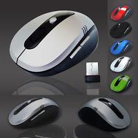 2.4 GHz 1600 DPI Optische Wireless Kabellos Funk Maus USB Computer Maus Mouse