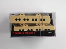 DiMarzio Model J Bass Set Creme DP 123