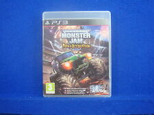 ps3 MONSTER JAM Path of Destruction MONSTER TRUCKS GRAVE DIGGER Playstation PAL
