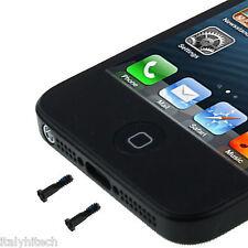 KIT 2 VITI ORIGINALI INFERIORI BLACK IPHONE 5 A1428 / A1429 TORX PENTALOBO