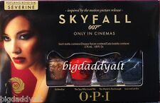 New OPI Nail Polish SKYFALL 007 James Bond BONDETTES Mini Minis Set