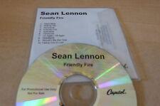 SEAN LENNON - FRIENDLY FIRE -!!!!!!!!!! FRENCH PROMO CD