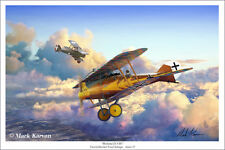 """Roland D.VIb"" Mark Karvon Giclee Print - 18 Victory Ace Emil Schape of Jasta 33"