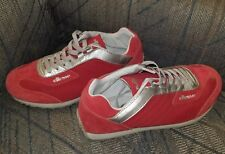 ELLESSE ATHLETIC SHOES RED/SILVER SIZE 7.5M TRACK SHOES TRAINERS RUNNING NEW