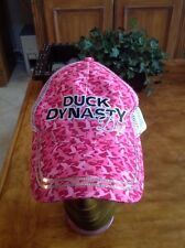 GIRLS DUCK DYNASTY PINK Paramount Outdoors ball cap Adjustable Pink & White