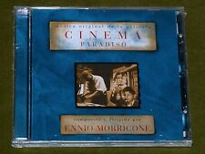 Cinema Paradiso Ennio Morricone Ost Cd *Rare* Argentina Press New