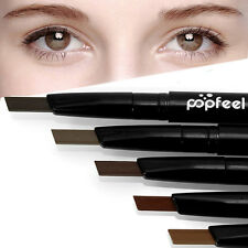 Popfeel Waterproof Eye Brow Eyeliner Eyebrow Pen Pencil With Brush Makeup NEW~~