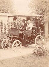 Automobile. Voiture légère Clément Panhard avec dais. 1900. Arthur Krebs