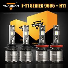 AUXBEAM T1 9005 H11 LED Headlight Decoder for Ram 1500 2500 3500 2011-2018 Hi-Lo