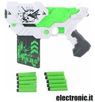 Pistola giocattolo con proiettili in schiuma morbida - Eddy Toys