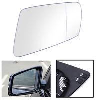 Left Passenger Side White Heated Wing Mirror Glass for MERCEDES E-Class W212 UK