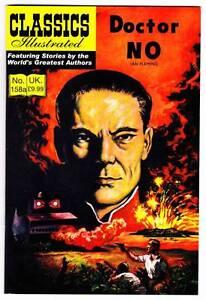 Modern reprint - UK CLASSICS ILLUSTRATED Ian Fleming DOCTOR NO with James Bond