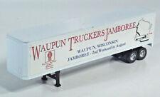 "Liberty Classics Semi Trailer 8.5"" 1/64 Scale Model Waupun WI Truckers Jamboree"