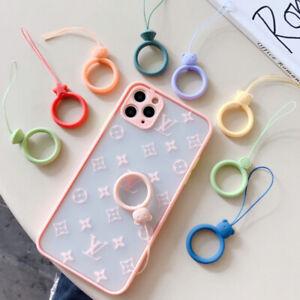 cute mobile phone lanyard Silicone ring ring accessories Mobile phone U di TK