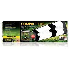 Exo Terra Medium Compact Top Terrarium Canopy Reptile Habitat Light Fixture 27