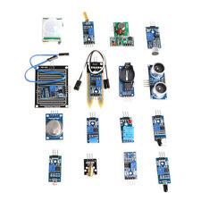 16pcs SET para Arduino Módulo de Sensor Tabla Kit Raspberry Pi 3/2 modelo B