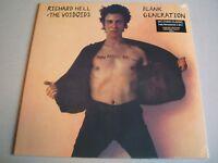 Richard Hell & The Voidoids :  Blank Generation reissue orange & black vinyl lp