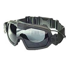 Fan Version Cooler Airsoft Glass Regulator Goggles Ski Snowboard Bike Sports BK
