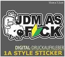 JDM as bordeI Sticker JDM ✅ Décalque OEM VAG Haters Sticker Boming Décalque Shocker s34