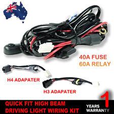 LED HID Wiring Loom Harness 2 Ways DT Kit Driving Lights Bar Plug & Play 40A