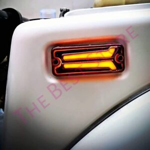 SUZUKI SAMURAI SIERRA GYPSY LED TURN SIGNAL INDICATOR LIGHT SJ413 SJ410 DRL